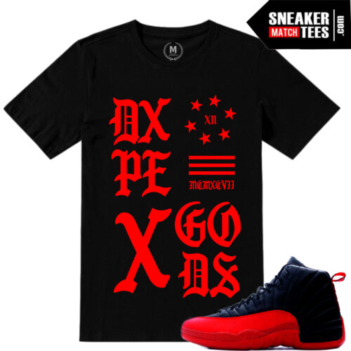 Flu Game 12 t shirt match Jordans