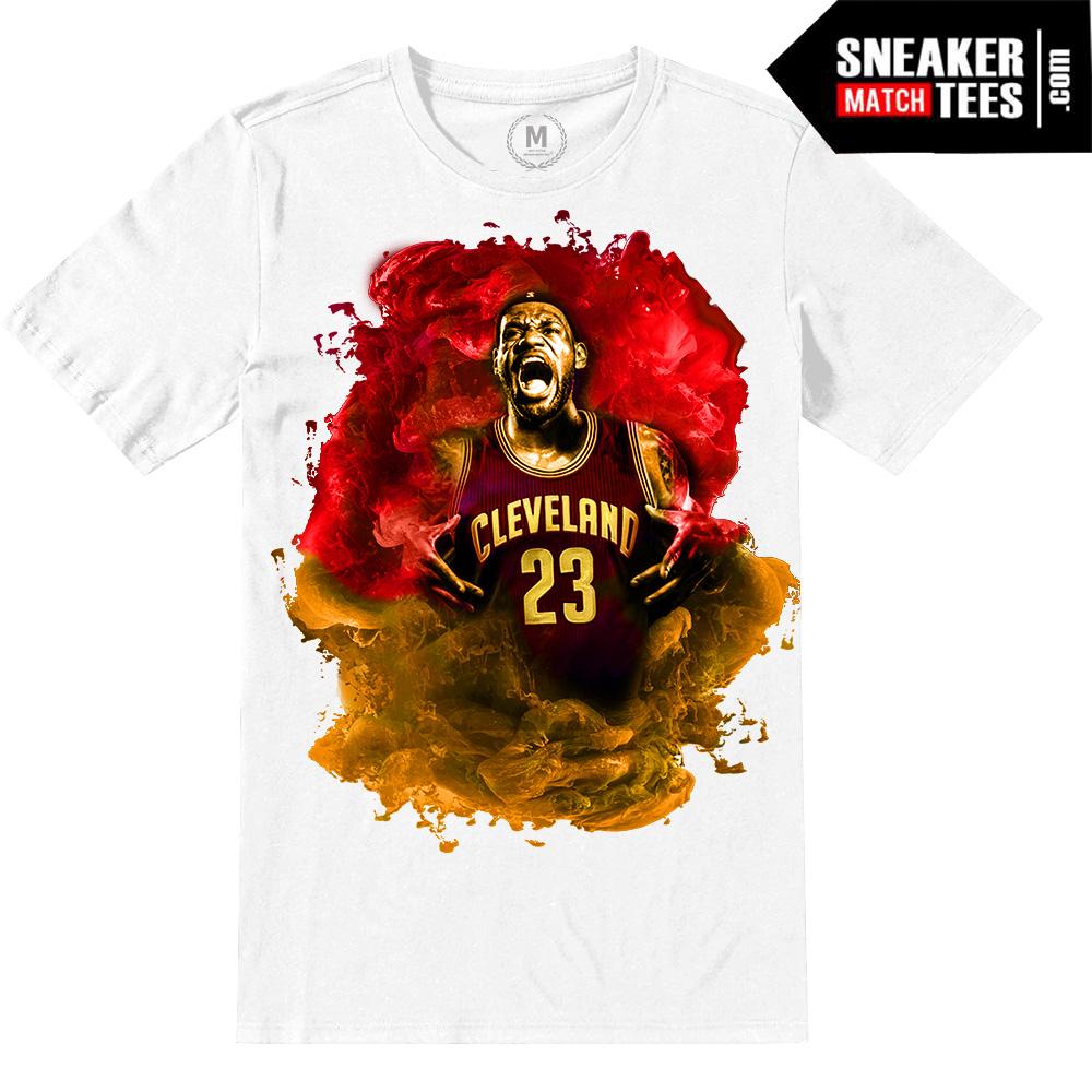 Lebron James Cavs t shirt NBA FINALS  Sneaker Match Tees