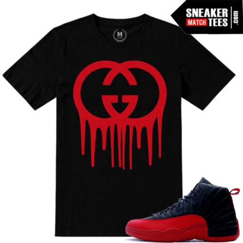 T shirt match Jordan Flu Game 12