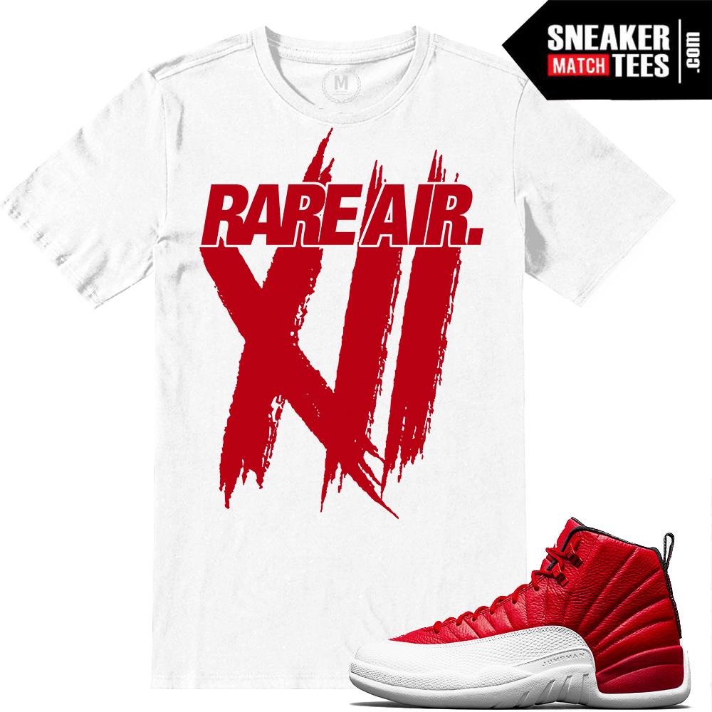 6985be22ab246b Air Jordan 12 Gym Red Match Sneaker tees