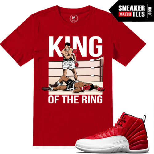Gym Red 12s Match Sneaker tees shirts