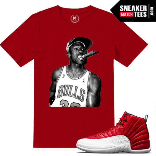 Gym Red 12s Matching Sneaker Tees