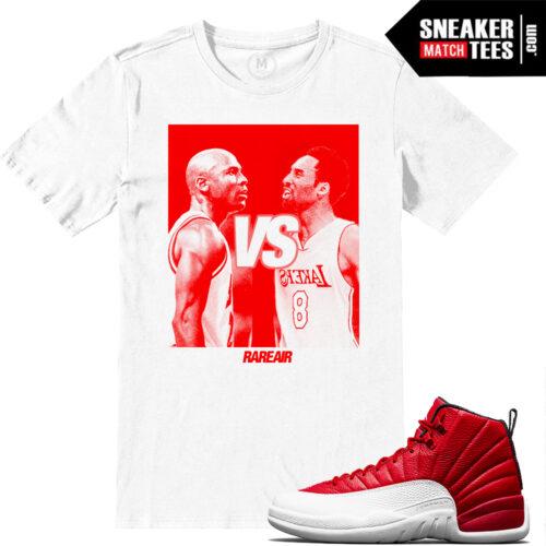 Gym Red Air Jordan 12 Match shirts