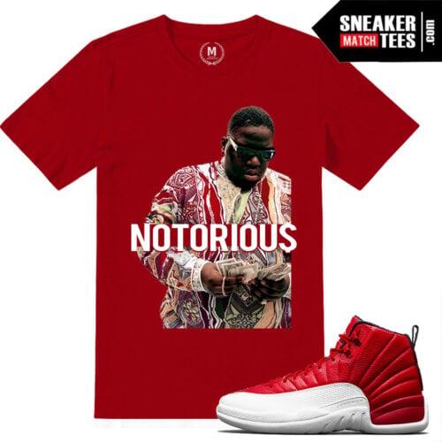 Gym Red T shirts Match Jordan 12