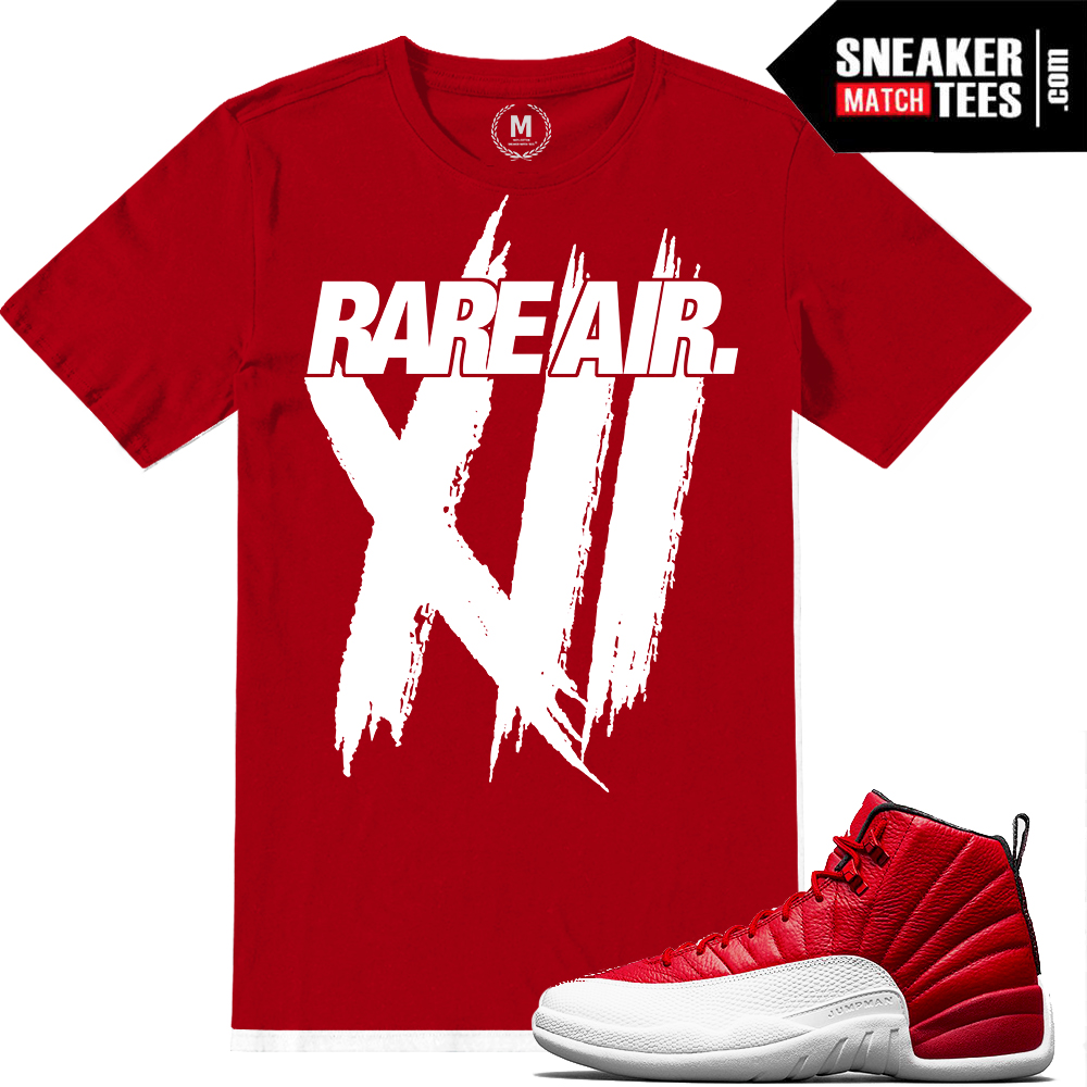 Gym Red t shirts Jordan 12 Match | Sneaker Match Tees Yeezy Foams Shirt