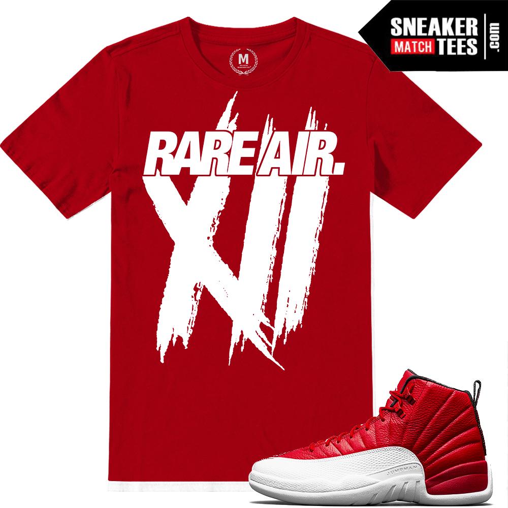 e3e657b897c5c7 Gym Red t shirts Jordan 12 Match