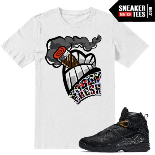 Match Jordan 8 Championship pack t shirts