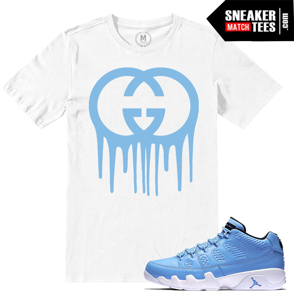 big sale 80826 a6013 ... Match Jordan Retros 9 Pantone Low T shirts ...
