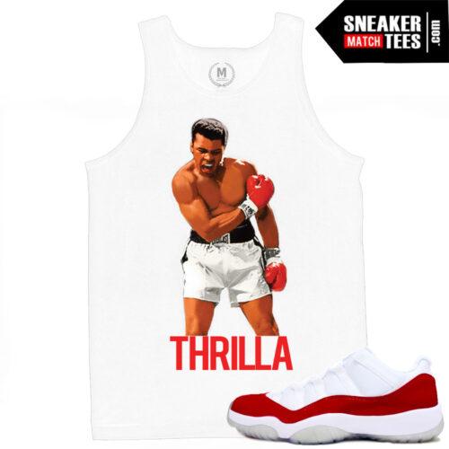 Mohammad Ali Summer Tank top Match Jordans