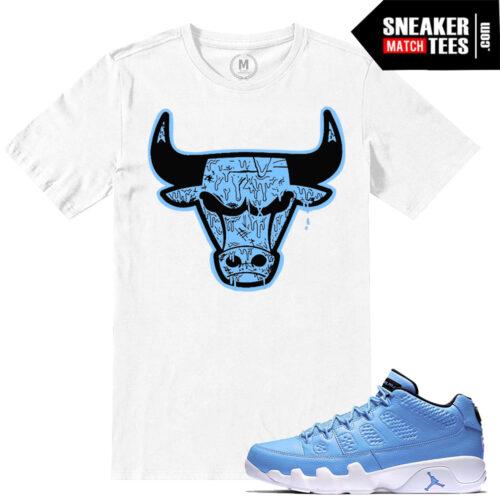 Retro Jordan 9 Sneaker tees match Pantone 9 Shirts