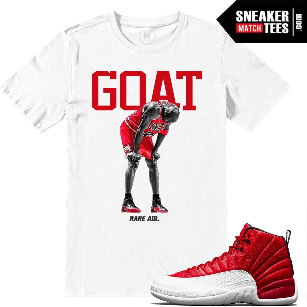 jordan 12 gym red goat