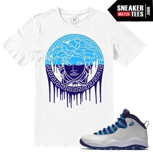 Sneaker Tees Match Jordan 10 Hornets