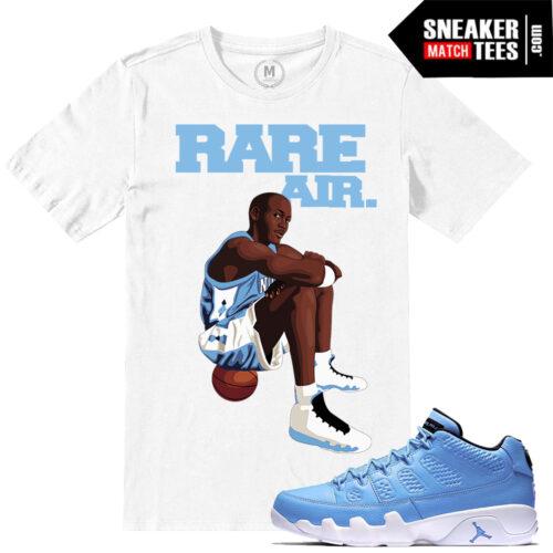 Sneaker Tees shirts match Pantone 9 Jordans
