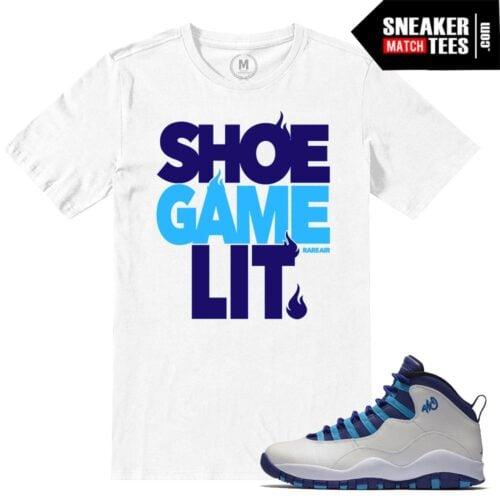 Sneaker tees match Jordan X Hornets