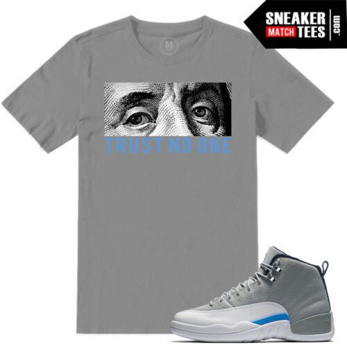 Sneaker tees match Wolf Grey 12s