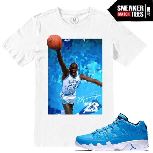 T shirts match Pantone 9 Low Jordans