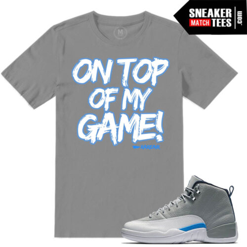Wolf Grey t shirt Match Jordan 12 Retros