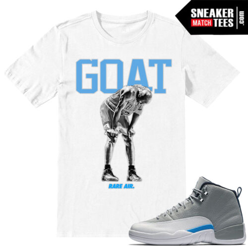 Wolf Grey t shirts match Jordan 12 Retros