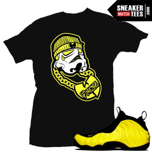 Wutang Foams Sneaker tees shirts
