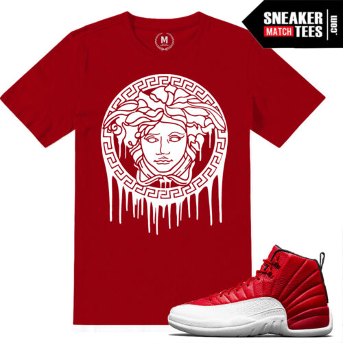 sneaker tees gym red 12 match