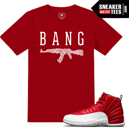 t shirts Gym Red 12s Match