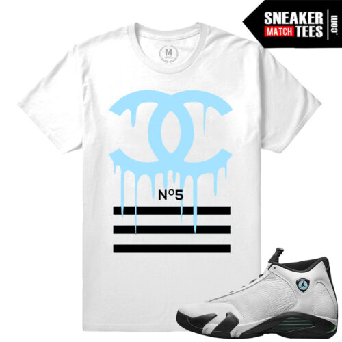 Jordan 14 Oxi match Sneaker tee shirts