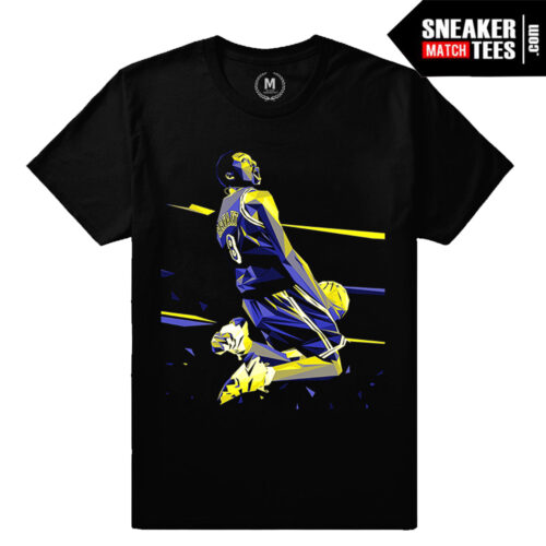 Kobe Bryant t shirt Limited Release Sneaker Match Tees