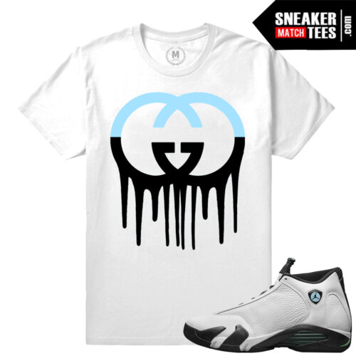 Match Jordan 14 Oxidized green t shirts