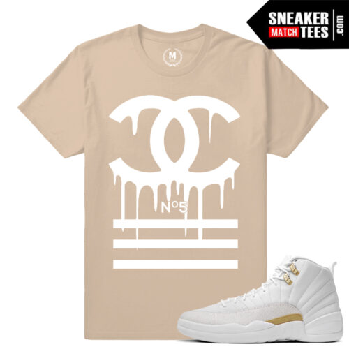 OVO 12s sneaker tees match