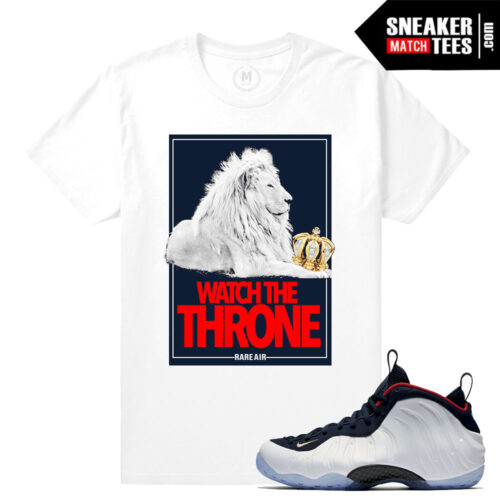 Olympic foams t shirts match Nike