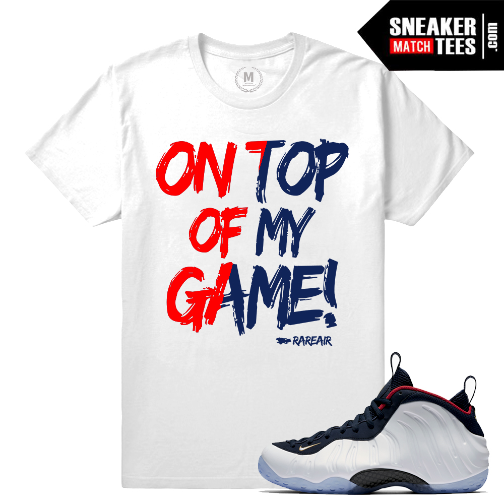 6c930321bbd Sneaker clothing match Olympic Foams | Sneaker Match Tees