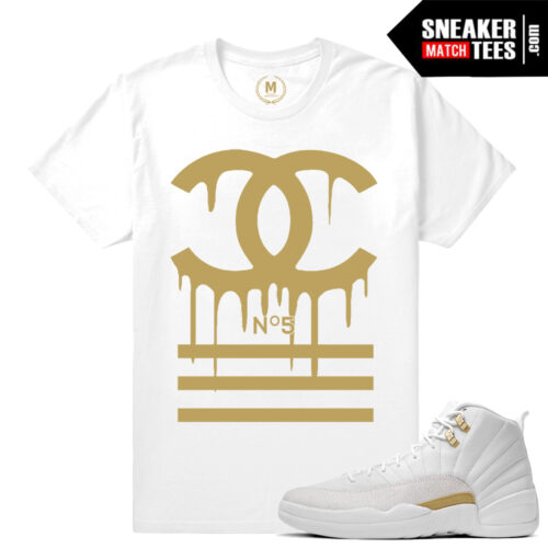 Sneaker tees match Jordan 12s OVO