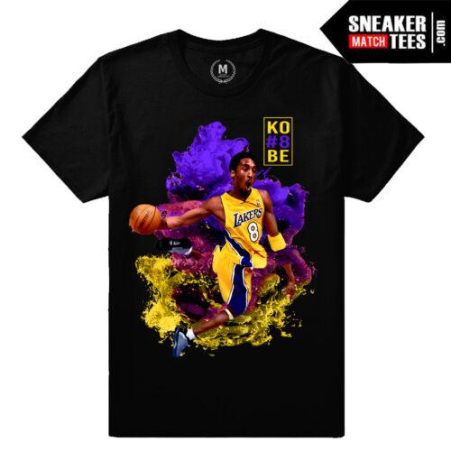 Young Kobe Bryant T shirt