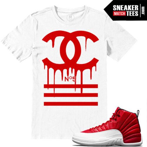 t shirt match Gym red 12 Retro Jordan