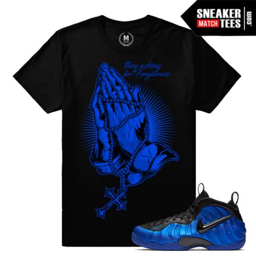 Cobalt Foams Sneaker tees Match