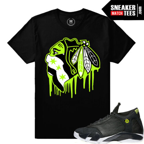 Indiglo 14s matching sneaker tee