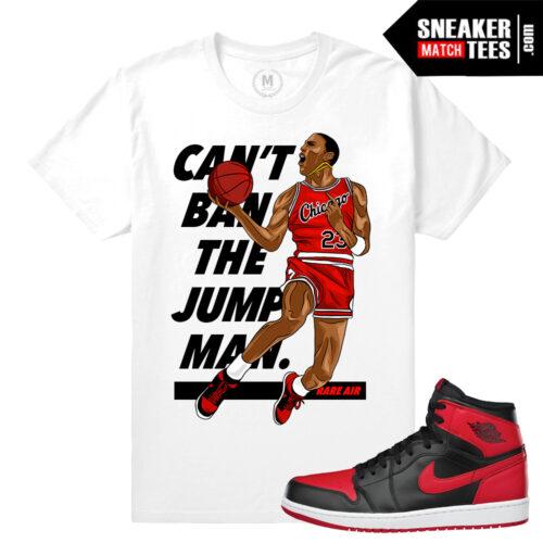 Jordan 1 Banned Sneaker tees Match