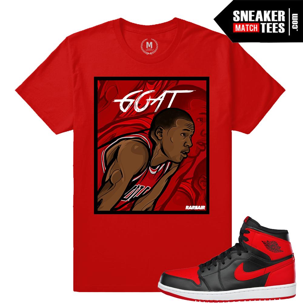 Jordan 1 Shirts Match Sneakers Sneaker Match Tees