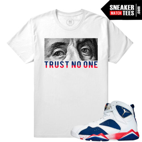 Jordan 7 Tinker Alternate shirts