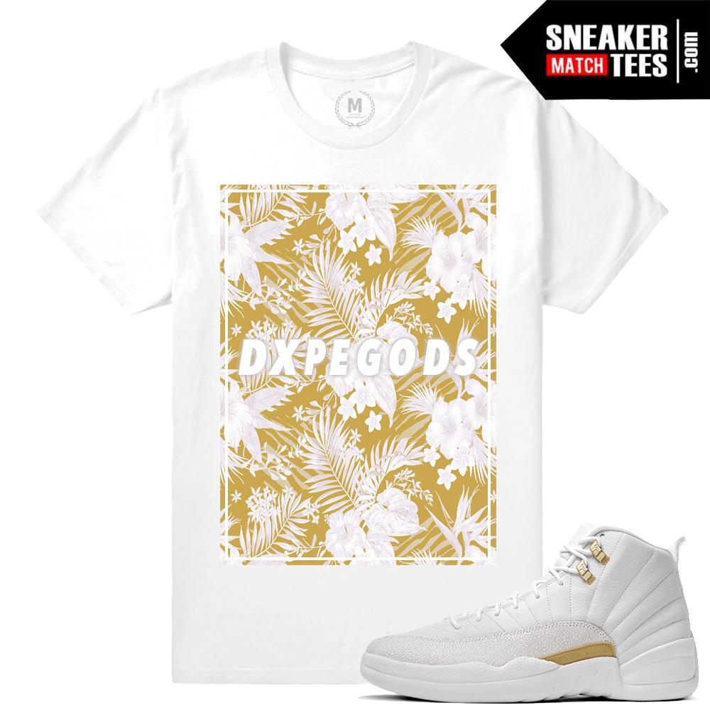 6dc0a5c8604e Jordan Retros OVO 12s Match Sneaker Tees