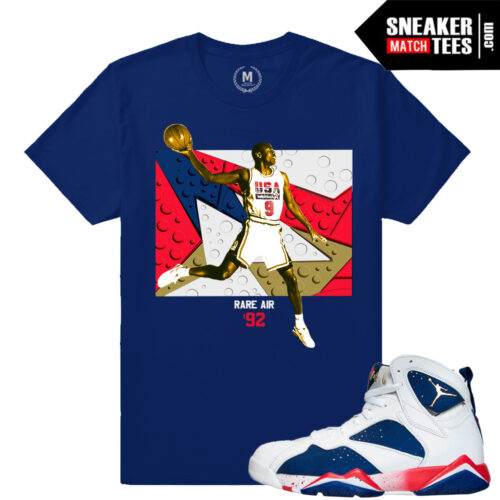 Jordan Retros Tinker Alternate 7s match t shirt