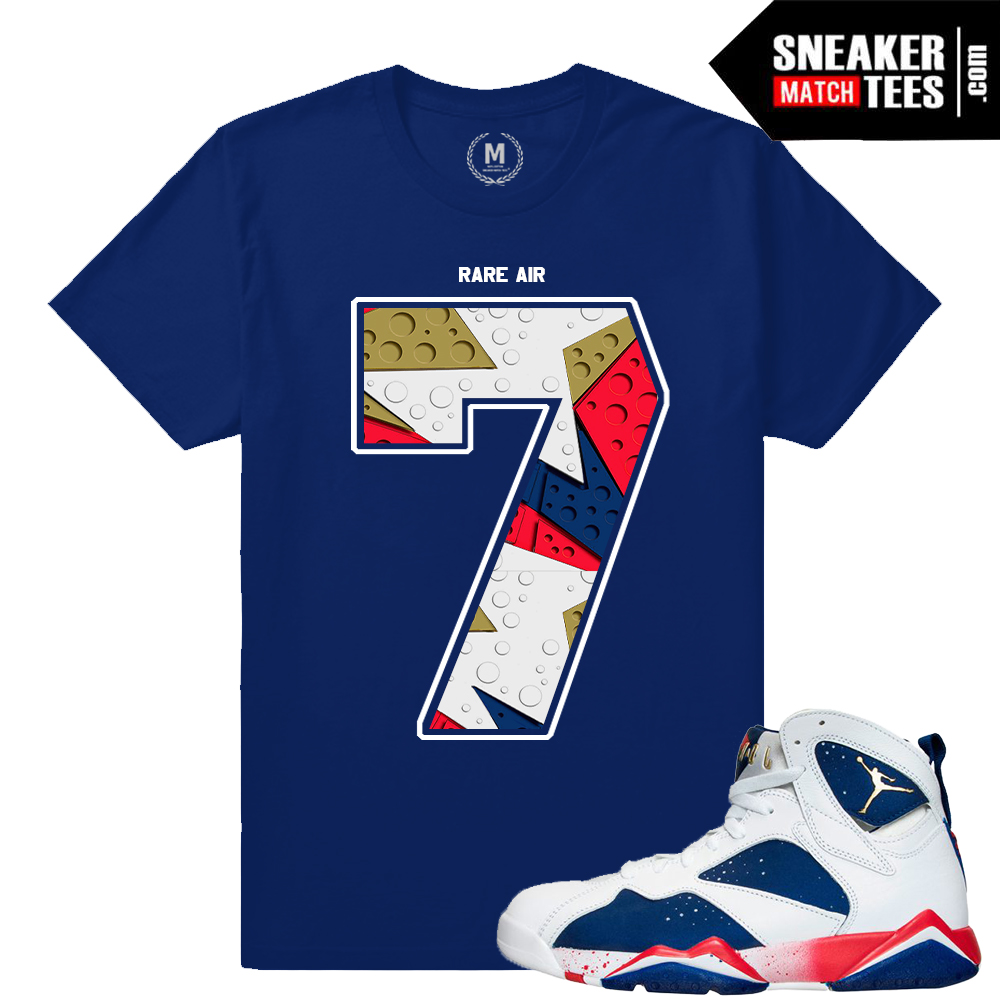f0618108543558 Retro Jordan 7 Tinker Alternate shirt match