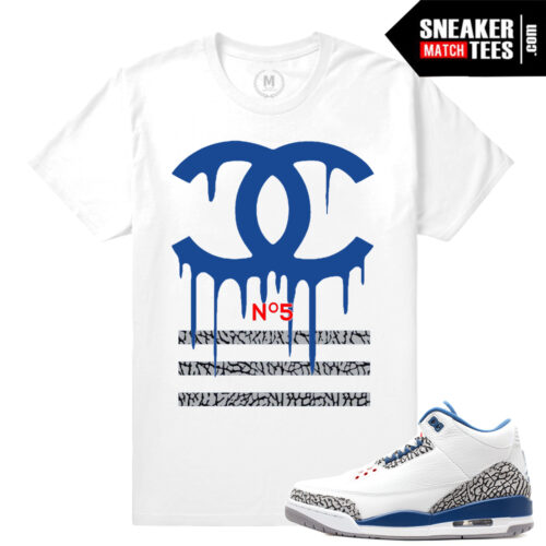 Shirt match true Blue 3s