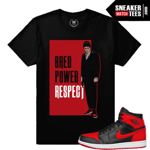 Shirts matching Bred 1 Jordan Banned