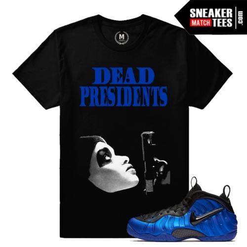 Sneaker Match Cobalt Foams T shirt
