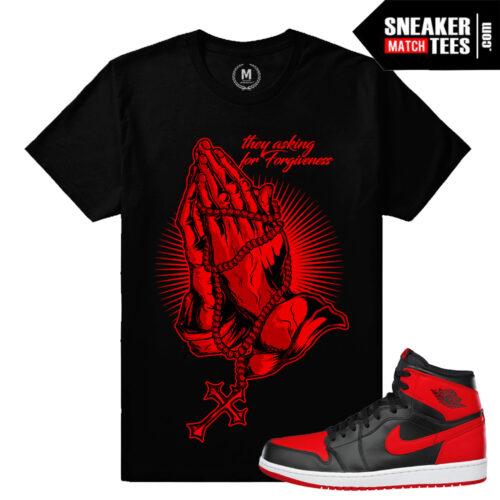 Sneaker Shirts matching Banned 1s Jordan