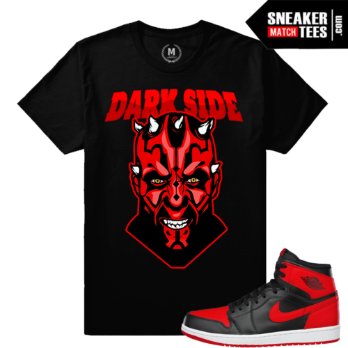 Sneaker t shirts matching Bred 1
