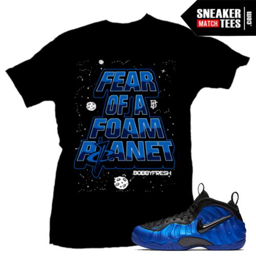 Sneaker tees Cobalt Foams t shirt