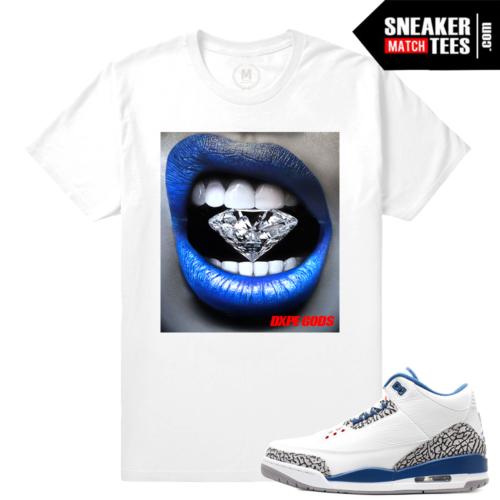 True Blue 3 Matching T shirt
