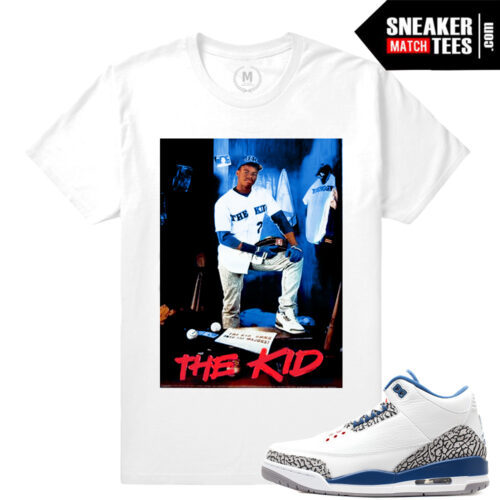 True Blue 3s OG t shirt match